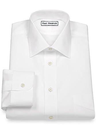 2 ply white dress shirts ith black