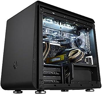 BitFenix Phenom - Caja de Ordenador de sobremesa (Mini-ITX, 2 x USB 3.0), Negro: Amazon.es: Informática