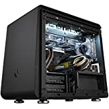 BitFenix Phenom Small Form Factor (SFF) Black computer case - Computer Cases (Small Form Factor (SFF), PC, Plastic, Steel, Mini-ITX, Black, Gaming)
