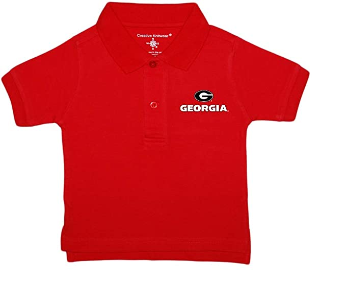 University of Georgia Bulldogs Circle G Baby and Toddler Polo Shirt