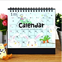 Free Shipping 2016 Cute Bear Desktop Calendar Simple Desk Calendar Office Supplies Desk Calendar Office School Supplies
