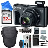 Canon PowerShot SX730 HS Digital Camera Bargain Bundle with 32GB Memory Card, Memory Card Reader, Case, On-The-Go Travel Quick Charger, Extra Battery, 6-Piece Cleaning Kit, DigitalAndMore Cloth For Sale