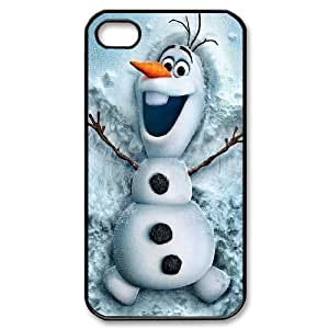 James-Bagg Phone case Frozen And Lovely Oalf Protective Case For Iphone 4 4S case cover Style-9