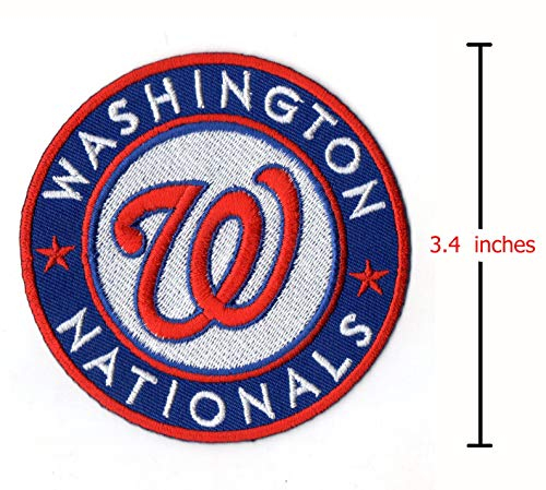 - MLB Washington Nationals Iron-On Embroidered Patch