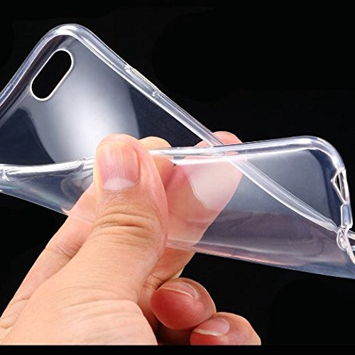 "Price comparison product image Ultra Thin Slim Crystal Clear Soft TPU Cover Case Skin for 4.7"" iPhone 6 Clear"