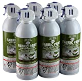 Simply Spray Upholstery Fabric Spray Paint 8 Oz. Can 6 Pack Sage Green