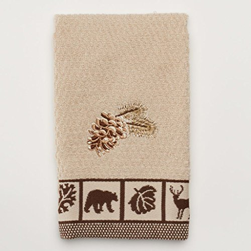 Natures Trail Cabin Fingertip Towel