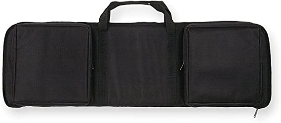 Bulldog Extreme Rectangle Discreet Black Assault Rifle Case