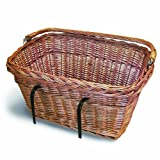 "Basil Davos Front Wicker Basket 15003 "" Natural by Basil"