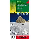 Carte de randonnée : Schladminger Tauern Radstadt Dachstein, mit GPS- Daten