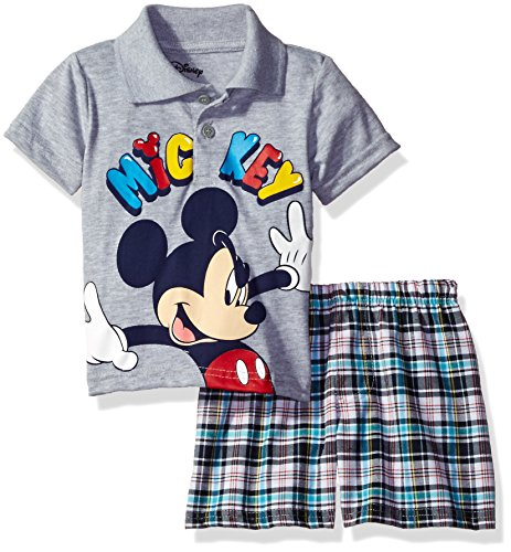 Disney Little Mickey Mouse Plaid