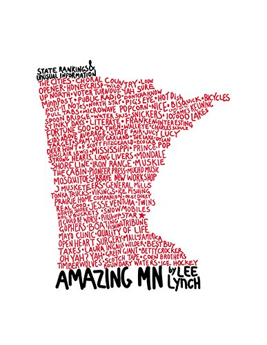 Amazing MN: State Rankings & Unusual Information cover