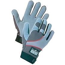 Silverback, Premium Suede Deerskin Mechanics Glove, Gray