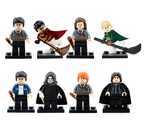Inspired Block Set by Generic | Hermione Granger, Ron Weasley, Draco Malfoy, Lord Voldemort by Pogo