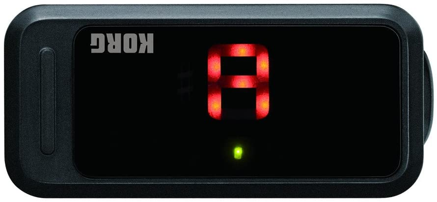 Orange Korg PC1 Pitchclip Clip-On Chromatic Tuner