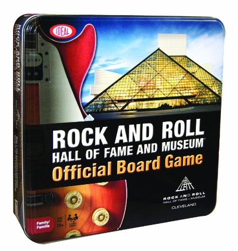 Ideal Rock and Roll Hall of Fame and Museum Board Game (Roll Trivia)