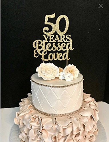 Sugar Plum Creations 50 Years Blessed & Loved