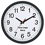 16 Inch Wall Clock - 5 Quantity - $21.15 Each - PROMOTIONAL PRODUCT / BULK / BRANDED with YOUR LOGO / CUSTOMIZED