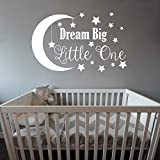 Best Wall Stickers For Babies - Dream Big Little One Wall Decal, Nursery Wall Review