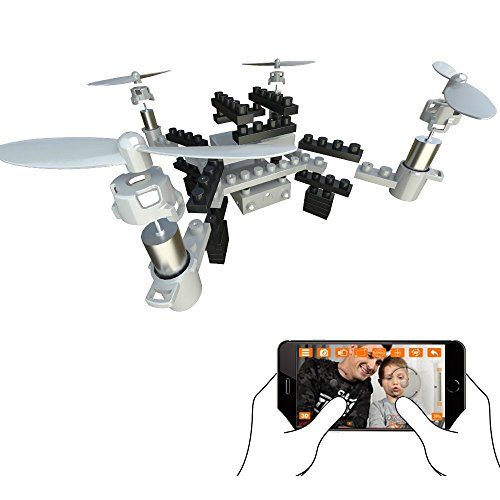 PowMax WW-53 RC Drone Altitude Hold Remote Control Drone FPV VR WiFi DIY RC Quadcopter with 1MP HD Camera RC Helicopter.