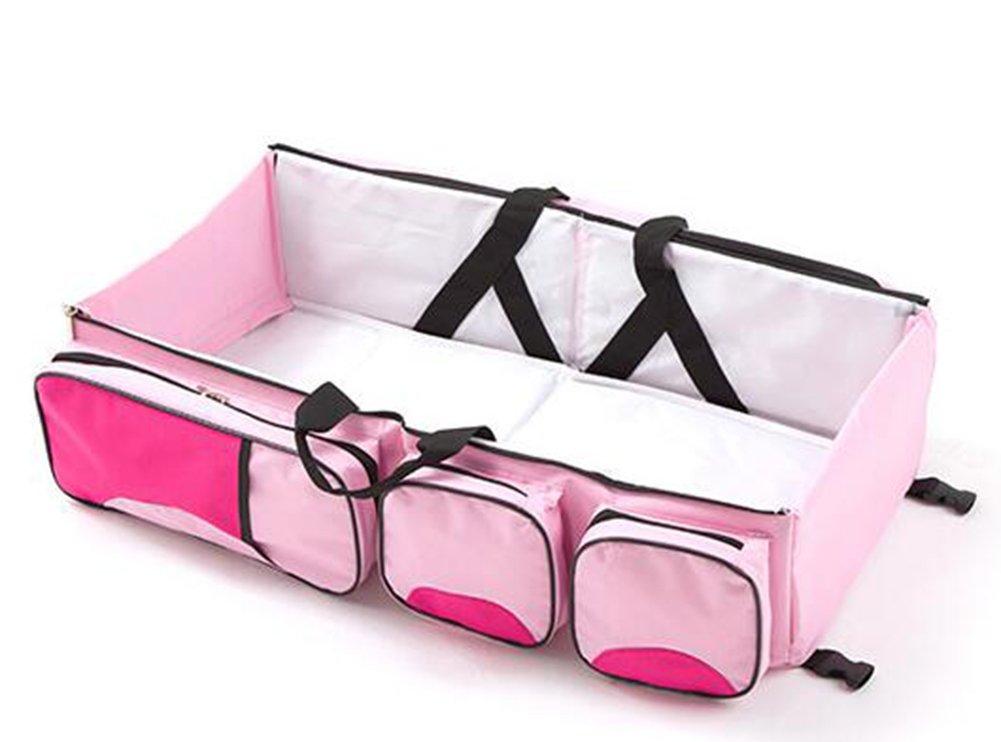 2 1 portatile pieghevole borsa multifunzione Baby in fasciatoio gr5twqIgx