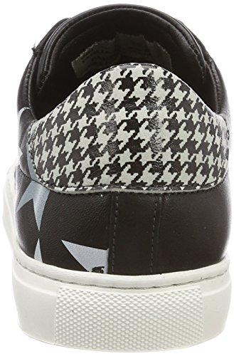Pantofola dOro Liv Donne Low, Sneaker Donna Nero (Nero)