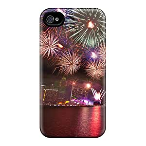 Scratch Protection Hard Phone Cover For Iphone 4/4s With Allow Personal Design Nice Iphone Wallpaper Series JasonPelletier