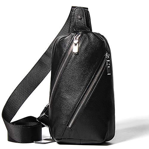 En Bandoulière Sports L'homme De Multifonction Le Mode Pour Élégant Dos noir Air Hommes Sac À Cuir Plein Bq4CqwfY