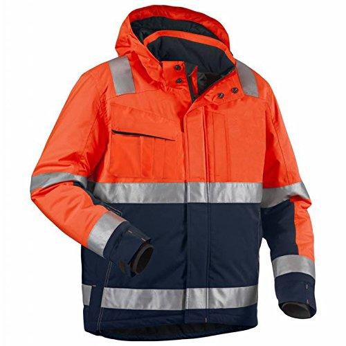 Blakläder 487019875389l High Schrauben Jacke Winter Klasse 3Größe L orange/marine blau