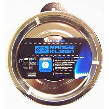 Amazon Com 12 Pack Range Kleen Round Reflector Gas Drip