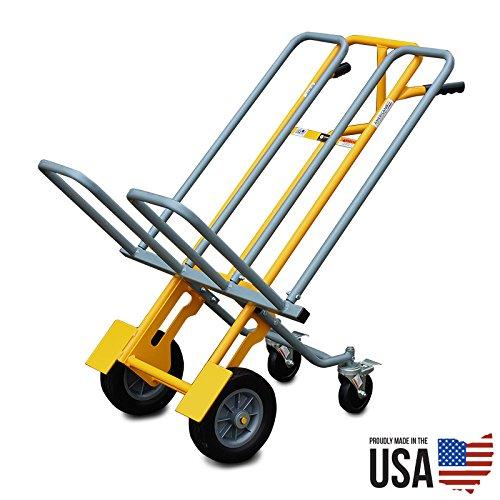 American Cart Dual Chiavari Chair Cart/Hand Truck with Rear Wheels