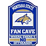 NCAA Montana State Bobcats Wood Sign, 11 x 17-Inch