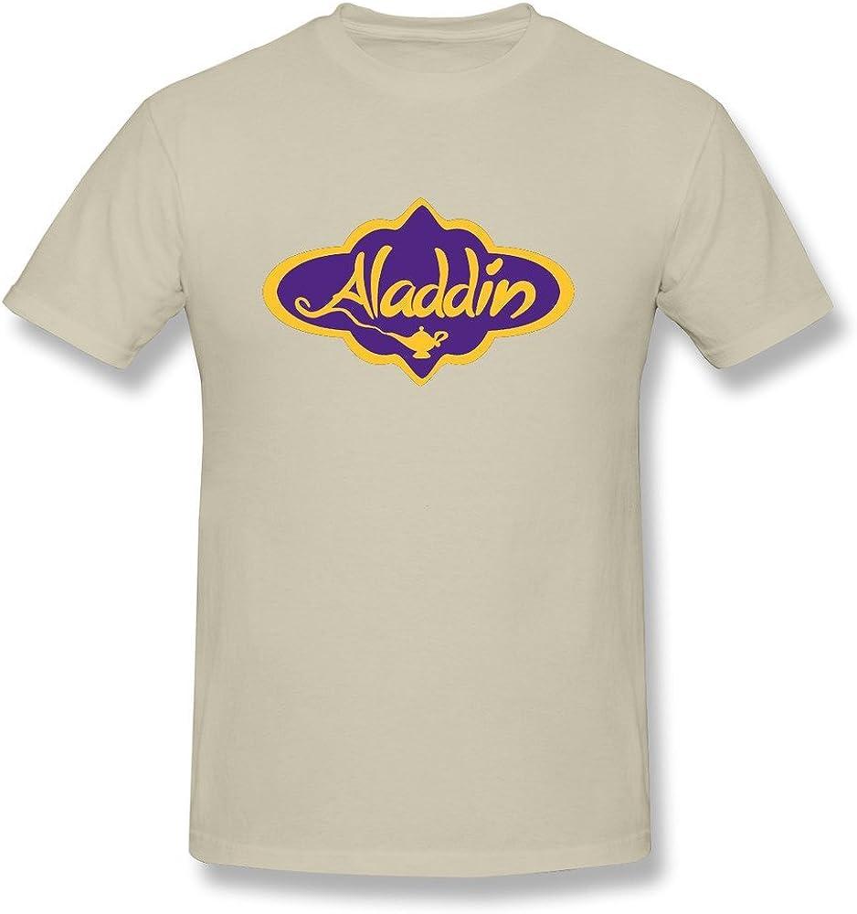 FEDNS Hombres de Aladdin Broadway Logo T Shirt