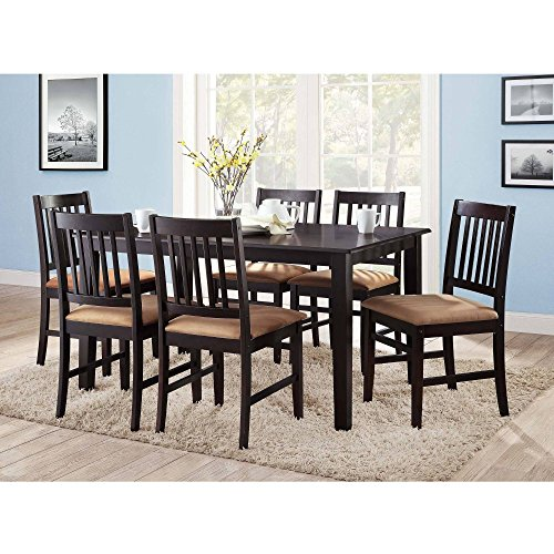 Eshion 6 Person Rectangular Casual Dining Leg Table