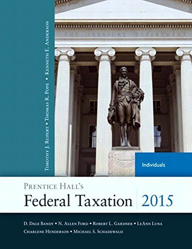 Prentice Federal Taxation Individuals 2014 04 18 product image