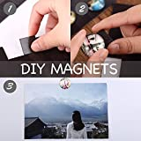 Flexible Magnet Squares with Adhesive by House