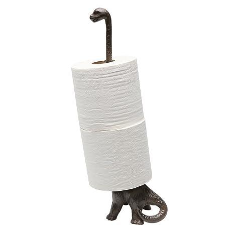 Relatively Amazon.com: Iron Dinosaur Paper Towel Holder: Kitchen & Dining DF03
