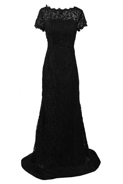 sunvary elegante largo Bateau Encaje vaina de vestido de fiesta vestido de novia Madre de: Amazon.es: Ropa y accesorios