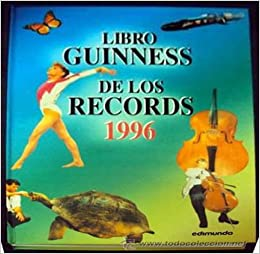 Book Libro Guinness 1996 - Records -