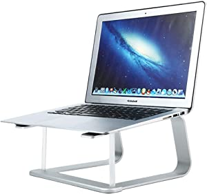 Laptop Stand for Desk,Aluminum Computer Riser with Holder for Mac MacBook Pro Air, Lenovo, HP, Dell, More 10-15.6 Inch PC Notebook