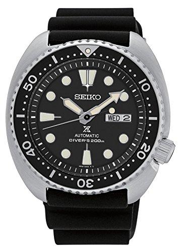 New Seiko SRP777 Prospex Automatic Black Rubber Strap Diver's Men's Watch