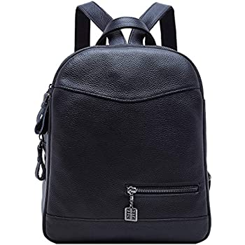 f2c436e538c3 Amazon.com  BOYATU Genuine Leather Backpack Purse for Women Mini ...