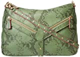 botkier Scout 1316556-H-GSN Cross Body,Green Snake,One Size, Bags Central