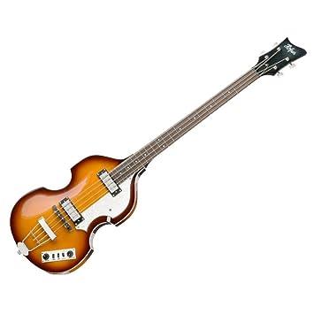 Hofner violín eléctrico ignitionsb Bass guitarra - acabado de madera de palisandro diapasón,: Amazon.es: Instrumentos musicales