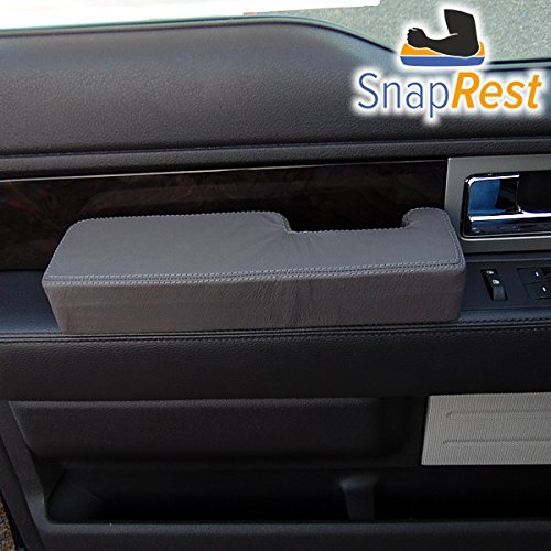 Premium Leather Black 2009-14 ONLY SnapRest The Instant Comfort Armrest for Ford F-150