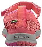 Merrell Girls' Hydro Monarch 2.0 Sandal, Orange, 7