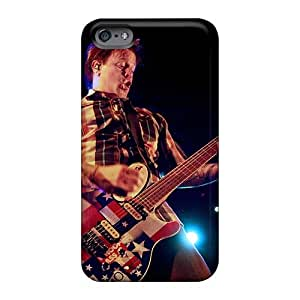 DannyLCHEUNG Iphone 6plus Durable Hard Phone Covers Unique Design Colorful Bowling For Soup Band Image [qIK11089Djoz]