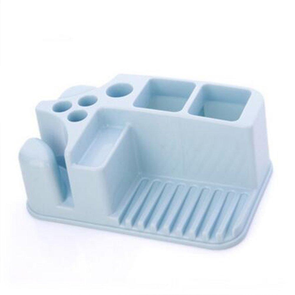 Amazon.com: Durable Plastic Rack Storage Bathroom Shower Shelf ...