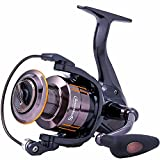 Sougayilang Spinning Fishing Reel - Ultra Smooth 13+1 Shielded Bearings, Light Weight Powerful