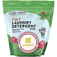 Grab Green Natural 3-in-1 Laundry Deterg...